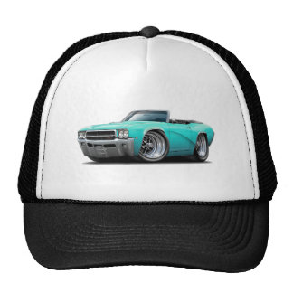 1969 Buick GS Turquoise Convertible Cap