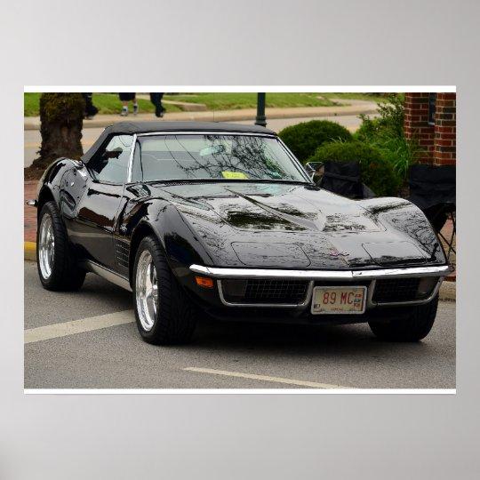 1969 C3 Corvette convertible Poster
