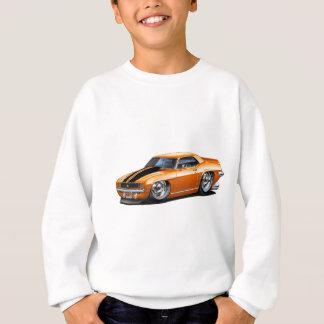 1969 Camaro Orange-Black Car Sweatshirt