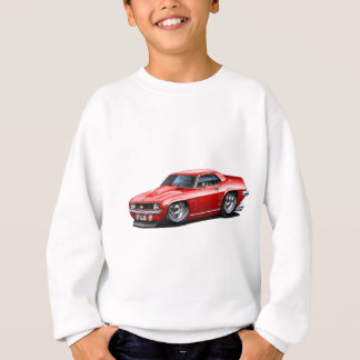 1969 Camaro SS Red Car Sweatshirt