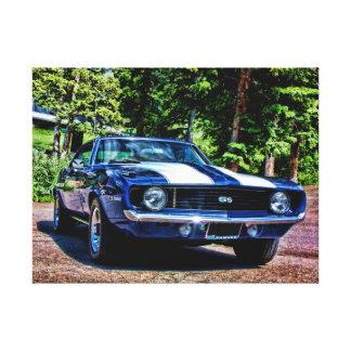 1969 Camaro SS Super Sport Muscle Car Canvas Print
