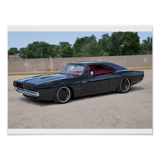1969 Charger Poster