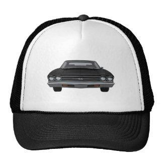 1969 Chevelle SS: Black Finish Trucker Hat
