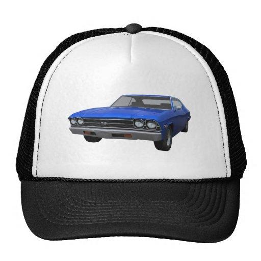 1969 Chevelle SS: Blue Finish Trucker Hats