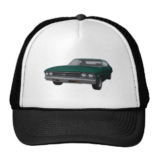 1969 Chevelle SS: Green Finish Trucker Hat