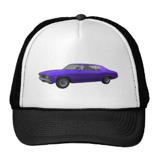 1969 Chevelle SS: Purple Finish Cap