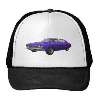 1969 Chevelle SS: Purple Finish Mesh Hats