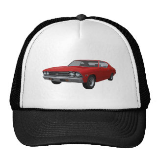 1969 Chevelle SS: Red Finish Cap