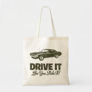 1969 Chevrolet Camaro SS Budget Tote Bag