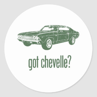 1969 Chevrolet Chevelle 396 SS Round Sticker