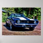 1969 Chevy Camaro SS Super Sport Poster