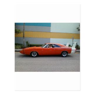 1969 Dodge Charger Daytona 440 Postcard