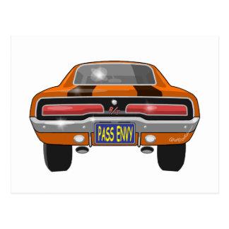 1969 Dodge Charger Postcard