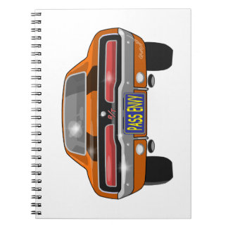1969 Dodge Charger Spiral Note Book