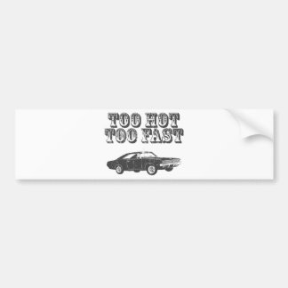 1969 Dodge Hemi Charger Bumper Sticker
