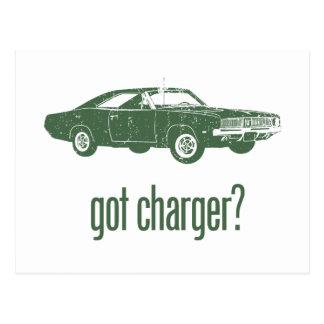 1969 Dodge Hemi Charger Postcards