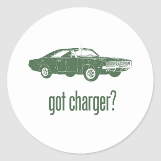 1969 Dodge Hemi Charger Stickers