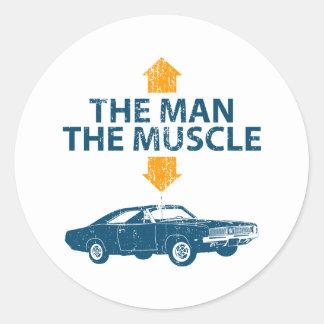 1969 Dodge Hemi Charger Sticker