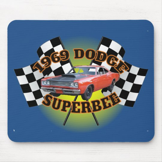 1969 Dodge Superbee Mouse Pad. Mouse Mat