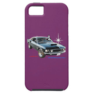 1969_Ford-Mustang iPhone 5 Covers