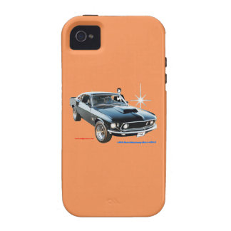 1969_Ford-Mustang Case-Mate iPhone 4 Cases