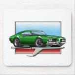 1969 Green Cutlass Mousepad