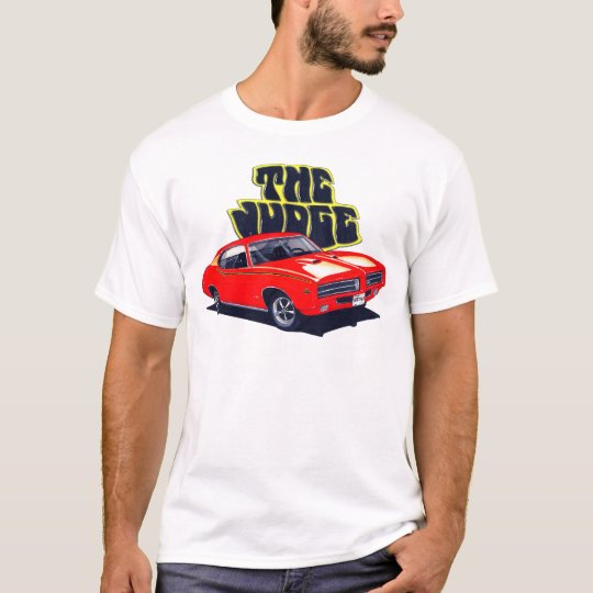 1969 GTO Judge Red Car T-Shirt