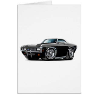 1969 Impala Black-White Top Car Card