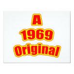 1969 Original Red