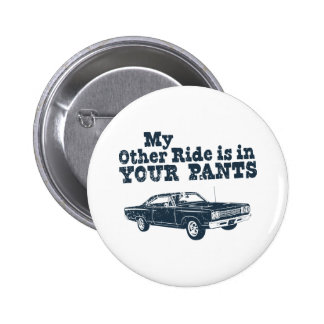 1969 Plymouth Road Runner Pinback Button