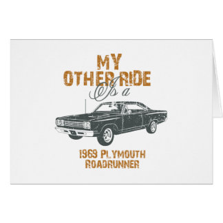 1969 Plymouth Road Runner Greeting Cards