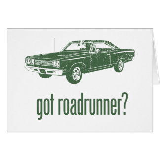 1969 Plymouth Road Runner Card