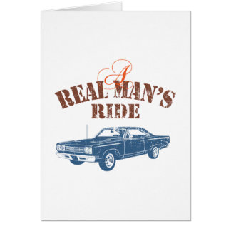 1969 Plymouth Road Runner Greeting Card