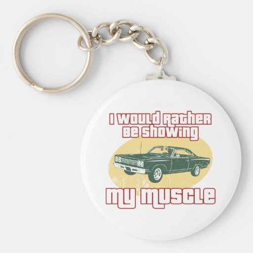 1969 Plymouth Road Runner Key Chain