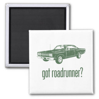 1969 Plymouth Road Runner Fridge Magnet