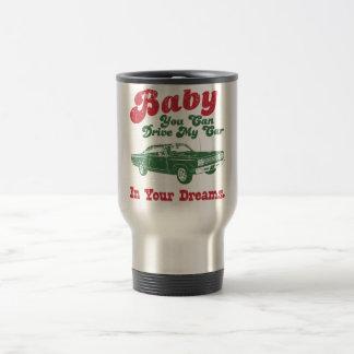 1969 Plymouth Road Runner 15 Oz Stainless Steel Travel Mug