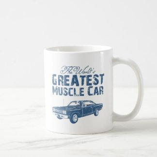 1969 Plymouth Road Runner Classic White Coffee Mug