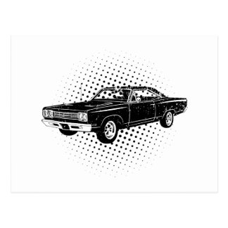 1969 Plymouth Road Runner Post Card