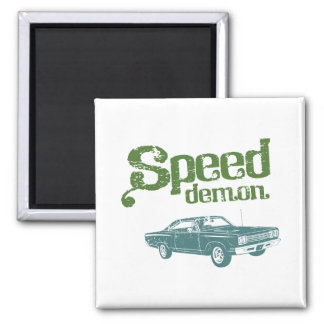1969 Plymouth Road Runner Refrigerator Magnets