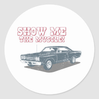 1969 Plymouth Road Runner Stickers