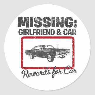 1969 Plymouth Road Runner Sticker