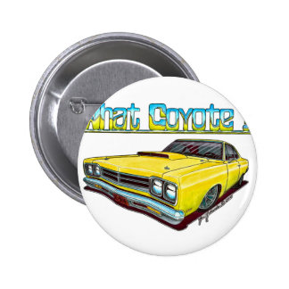 1969 Plymouth Roadrunner Buttons