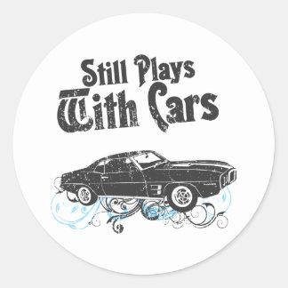 1969 Pontiac Firebird Classic Round Sticker