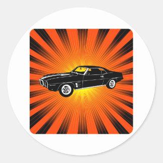 1969 Pontiac Firebird Stickers