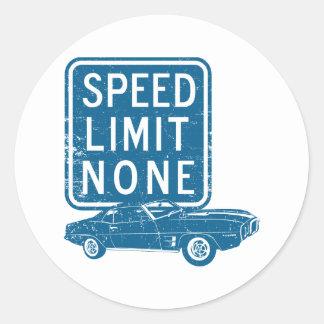 1969 Pontiac Firebird Sticker