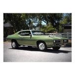 1969 Pontiac GTO Muscle Car Invitations