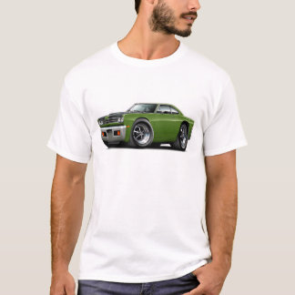 1969 Roadrunner Ivy-Black Hood Car T-Shirt
