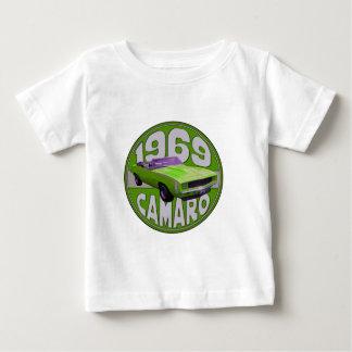 1969 Super Duper Sport Camaro Green Shirt