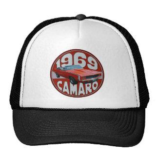 1969 Super Sport Camaro Deep Red Line Cap