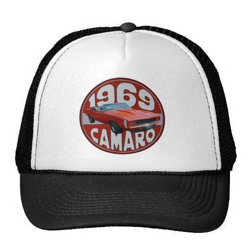 1969 Super Sport Camaro Deep Red Line Hat